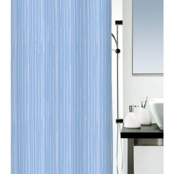 Dieser Duschvorhang ist praktisch und chic. Durch das dezente Blau kombinieren Sie den Vorhang perfekt mit Ihrer Badezimmereinrichtung. Bei einer Größe von ca. 180 x 200 cm (B x H) schützt er Ihre Böden perfekt. Dabei besteht das blickdichte Textil aus oberflächenversiegeltem Polyester. Dieser Duschvorhang wird Sie begeistern!