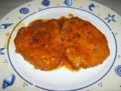 » Scaloppine allo zafferano - Ricetta Scaloppine allo zafferano di Misya