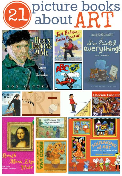 Great art books for kids.{ Going to the art museum is a hike for us so in a pinch these books give us a chance to talk and check out great art}