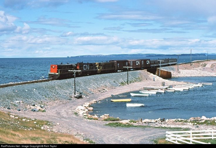 newfoundland & labrador train photo | photo location map locomotive details location date of photo canadian ...