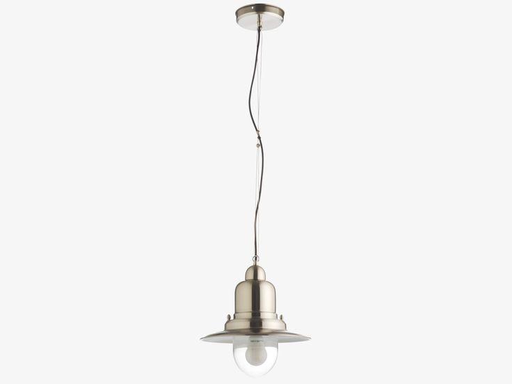 FISHERMAN SILVER Metal Silver metal ceiling light £60 - HabitatUK