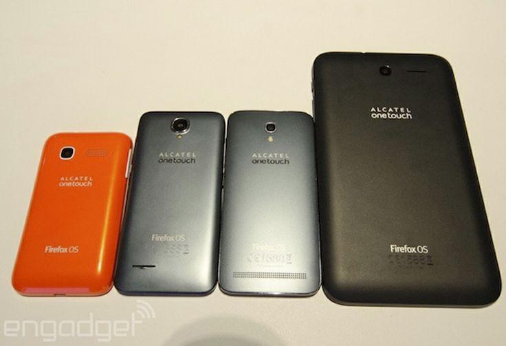 Alcatel presentó tres nuevos smartphones y una tablet con Firefox OS en