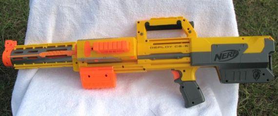 NERF N-Strike Deploy CS-6 Dart Blaster w/ Tactical Light Clip...