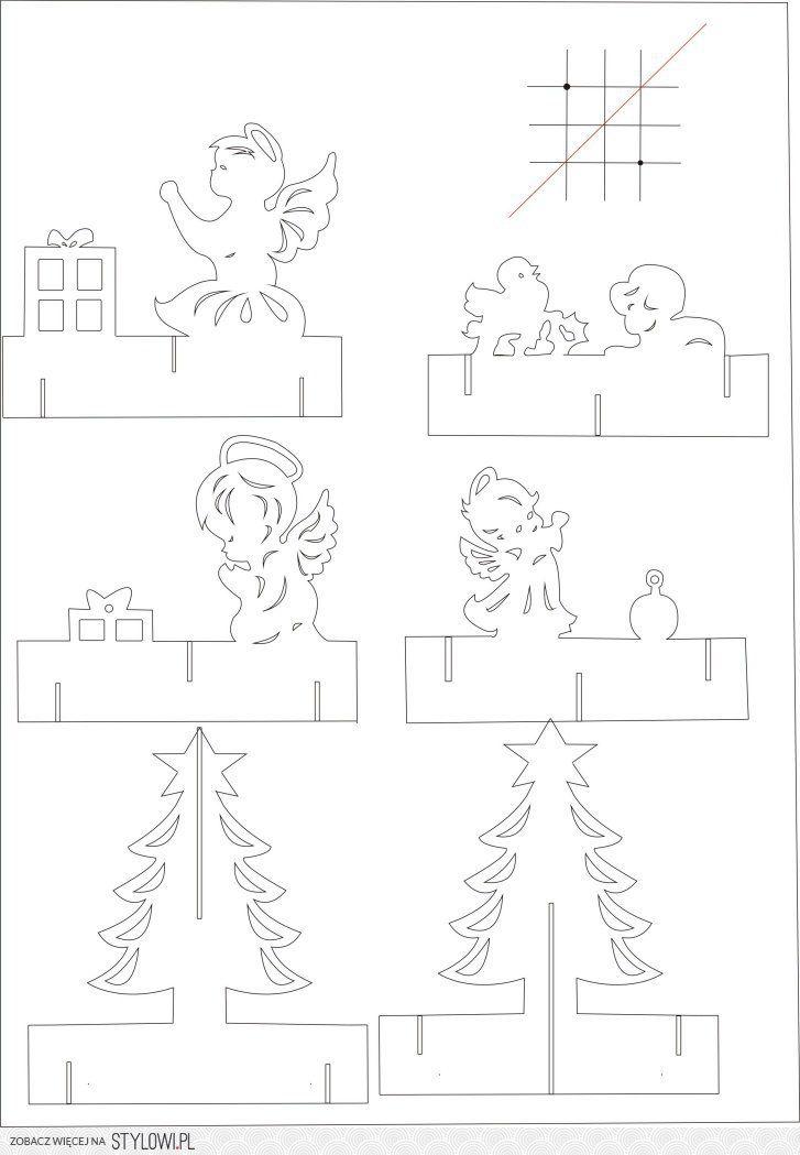 Popup Card - 180 độ - Pattern na Stylowi.pl