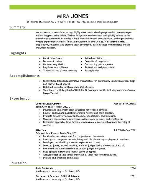 Resume Format Lawyer 2-Resume Format Resume format, Resume
