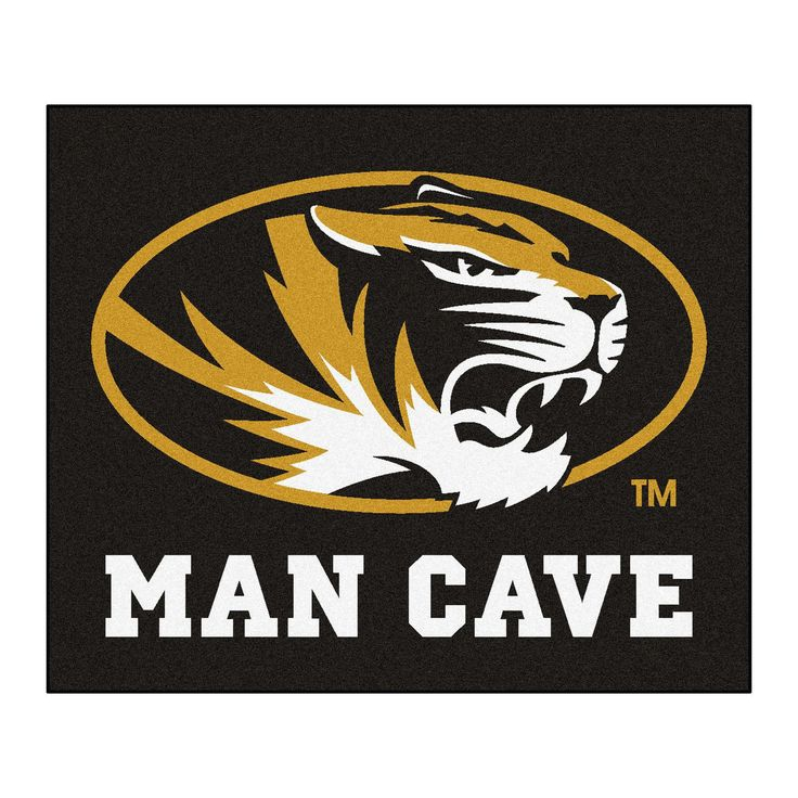 University of Missouri Man Cave Tailgater Rug 5x6