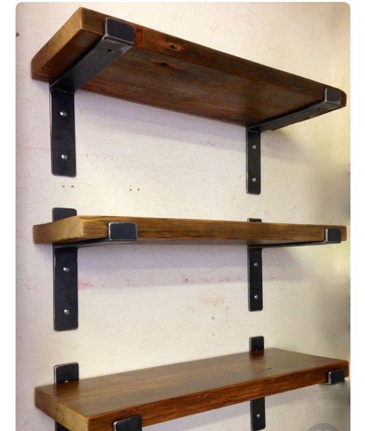 Mensulas para estantes arriba mueble tv