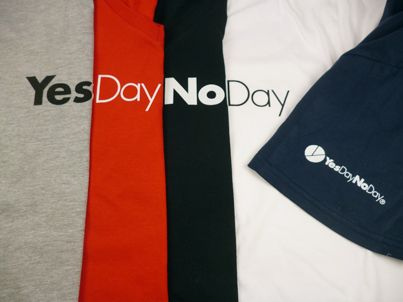 5 colori per le nuove T-Shirt www.yesdaynoday.com