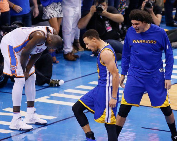 Klay Thompson Takes Control, and Warriors Force Game 7 With Thunder - NYTimes.com