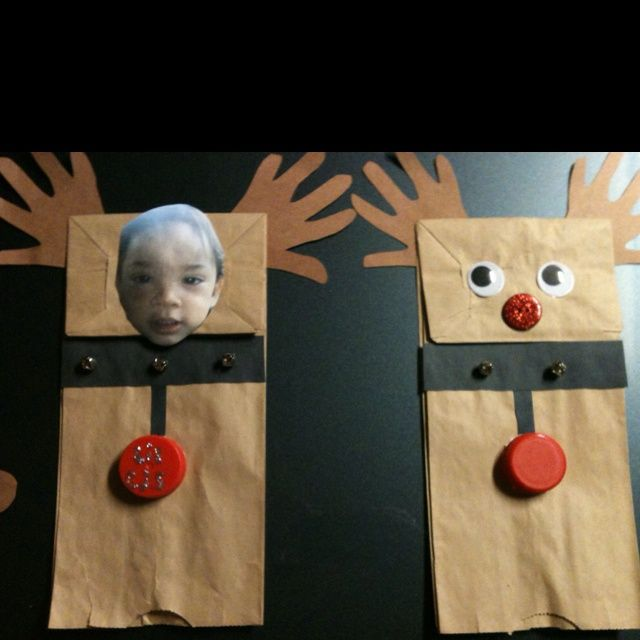 Pictures Of Preschool Christmas Crafts