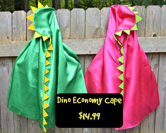 Dinosaur Costume. Dinosaur Cape. Dino Costume. by CapesAndMore