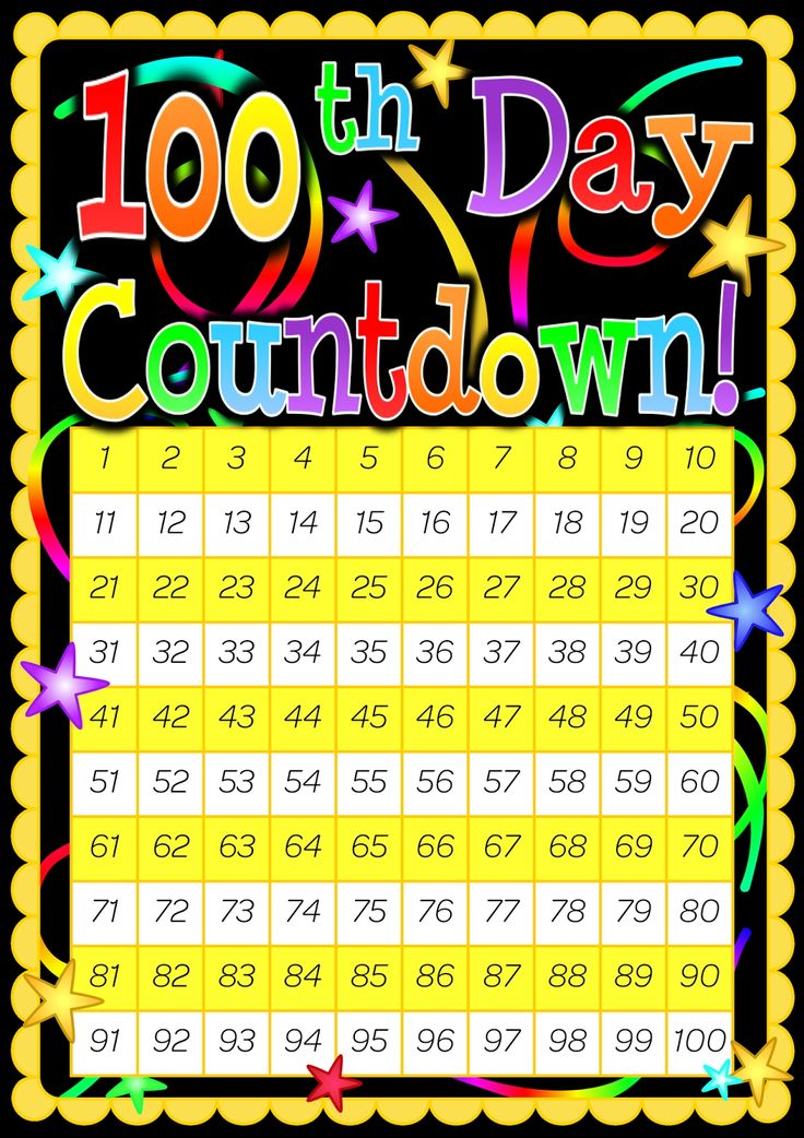 Christmas Countdown Calendar 100 Days in 2020 Day