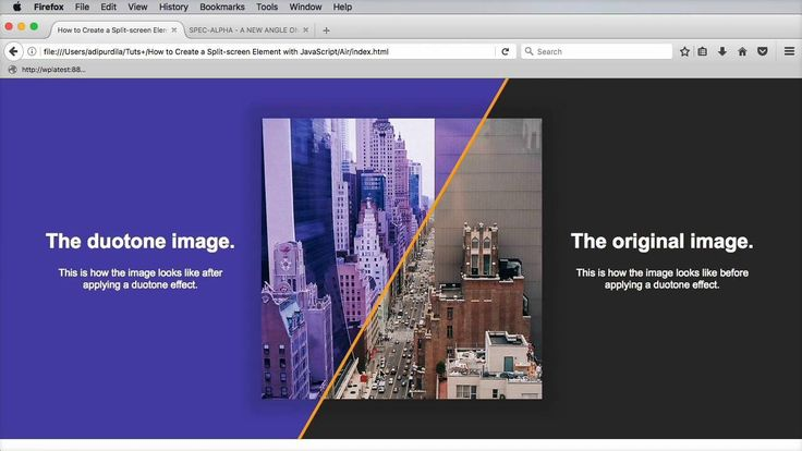 Wistia video thumbnail - How to Create a Split-Screen Element With JavaScript