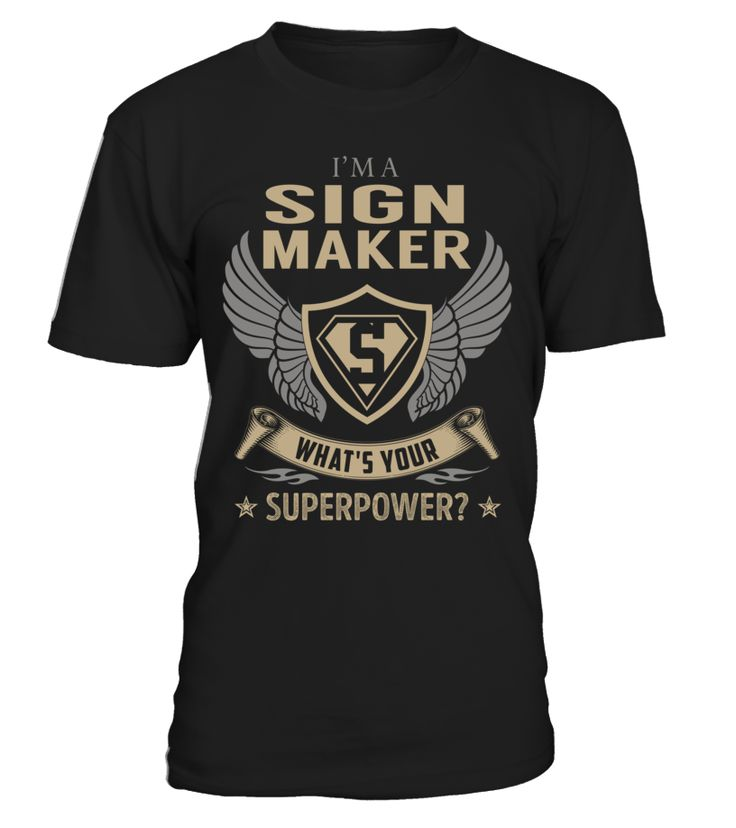 Sign Maker - What's Your SuperPower #SignMaker