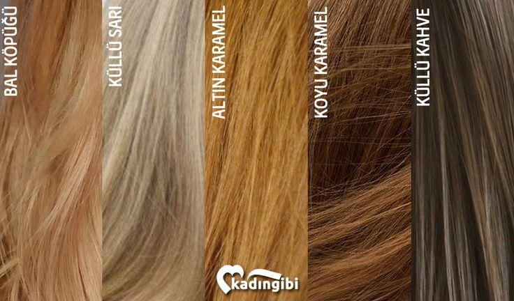 Bal Köpüğü Saç Rengi Katalogu