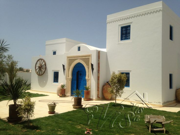 20 best images about maison djerba tunisie on pinterest for Achat maison en tunisie