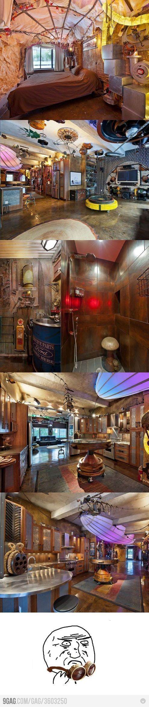 Best 25 picture wall staircase ideas on pinterest stairway gallery staircase pictures and - Steampunk bedroom ideas ...