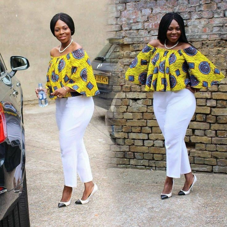 African print top, ladies top, African top, Ankara top
