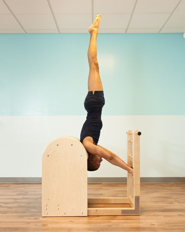 Ladder High Barrel ~ the beautiful, strong and long lines of the Pilates Method! (via Brett Howard Pilates)
