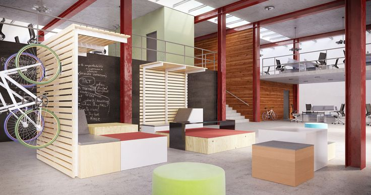 OFS Brands The Edge shows flexibility in the office with limitless ideas. #ofs #flexibility #limitless