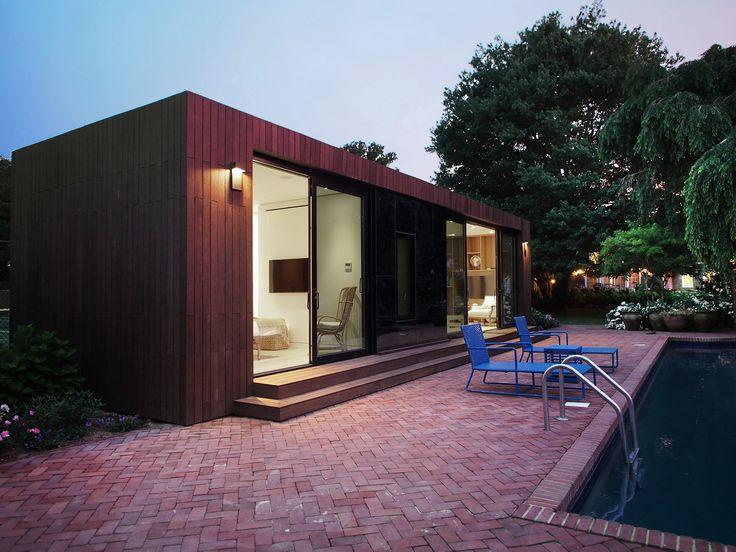 Modular Pool House Exterior Part 4