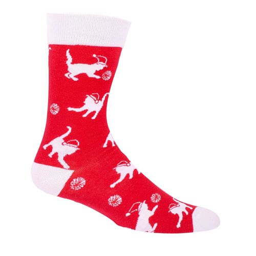 Tipsy Elves Cat and Yarn Socks
