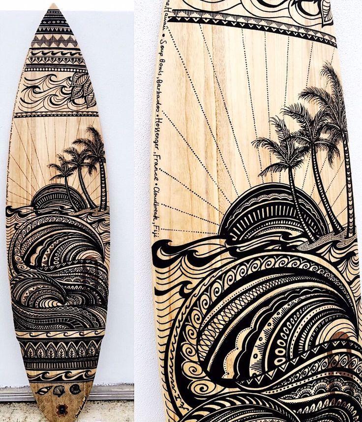 This Board Is Awesome Planche De Surf Art Du Surf Dessin Surf