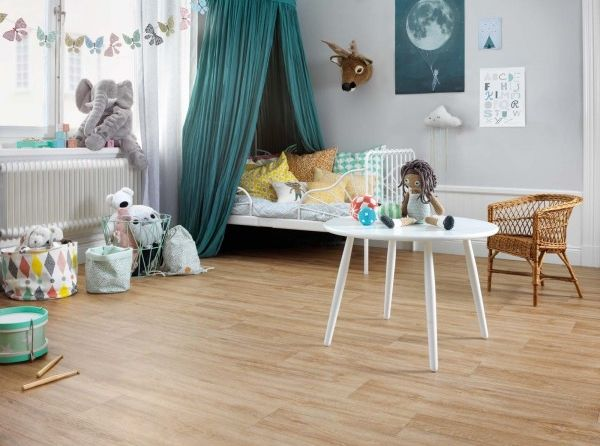 "Sol PVC en rouleau imitation parquet | Tarkett Exclusive 280T ""27013037 Apunara Oak Natural"" - BRICOFLOR"