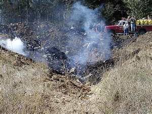 Crash site in PA