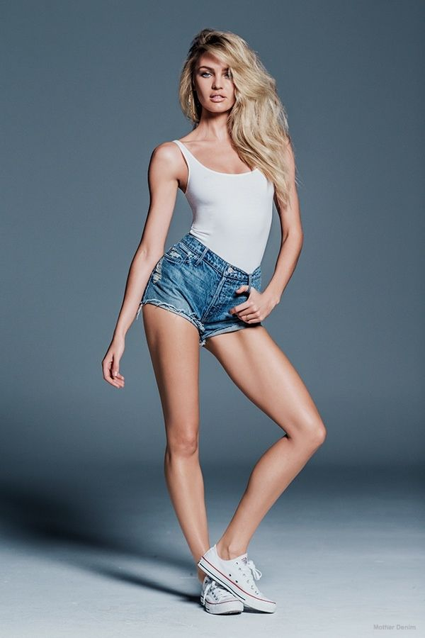South African model Candice Swanepoel is the latest to link up for a designer collaboration. This time, Mother Denim has tapped the blonde stunner to create a capsule collection of jeans inspired by 1990s street style. The collection will hit stores in mid-February and feature seven denim styles ranging from high-waisted skinnies and cut-off shorts.