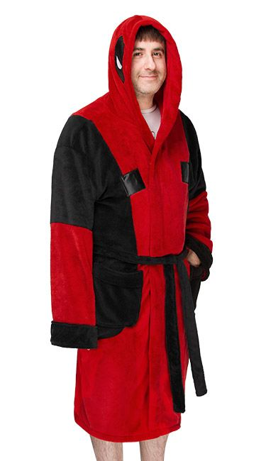 Deadpool Fleece Robe