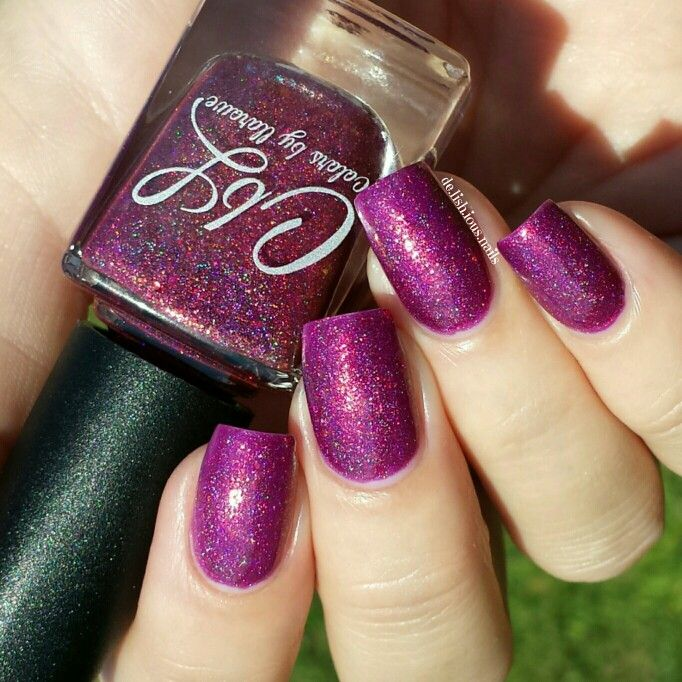 Colors by Llarowe - The Fallen swatched by @delishiousnails