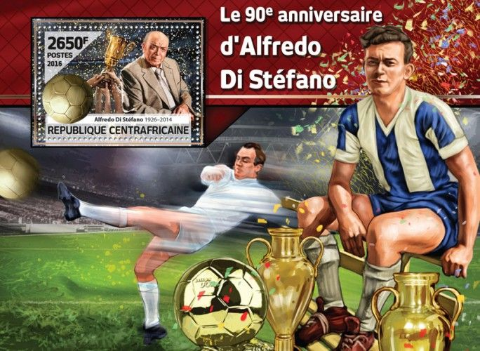 CA16514b The 90th anniversary of Alfredo Di Stefano (Alfredo Di Stefano (1926-2014))