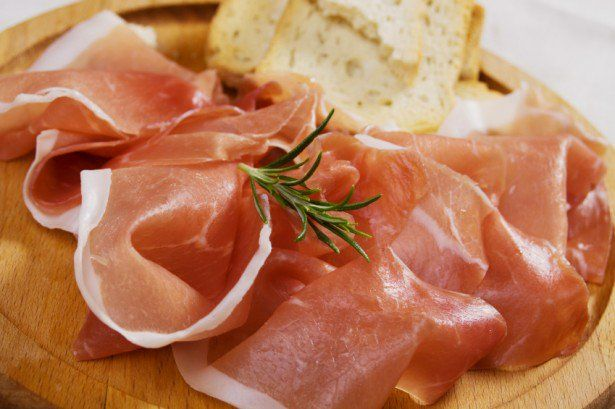 The meat delicacy prosciutto is among the favorite meals in Herzgeovina. The name prosciutto is clearly of Latin origin, derived from the words pro, meaning before, and exsuctus, meaning dried up. Visit our website: www.tourguidemostar.com #food #lovefood #foodie #tourguidemostar #mostar #bosniaandherzegovina #pršut #prosciutto