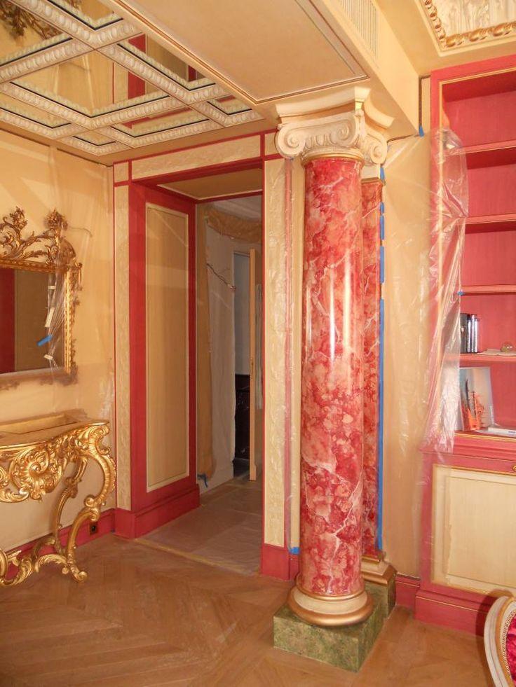17 meilleures id es propos de faux marbre sur pinterest. Black Bedroom Furniture Sets. Home Design Ideas