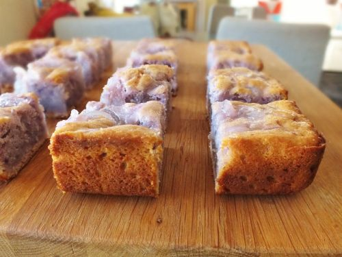 Okinawan Sweet Potato Cake