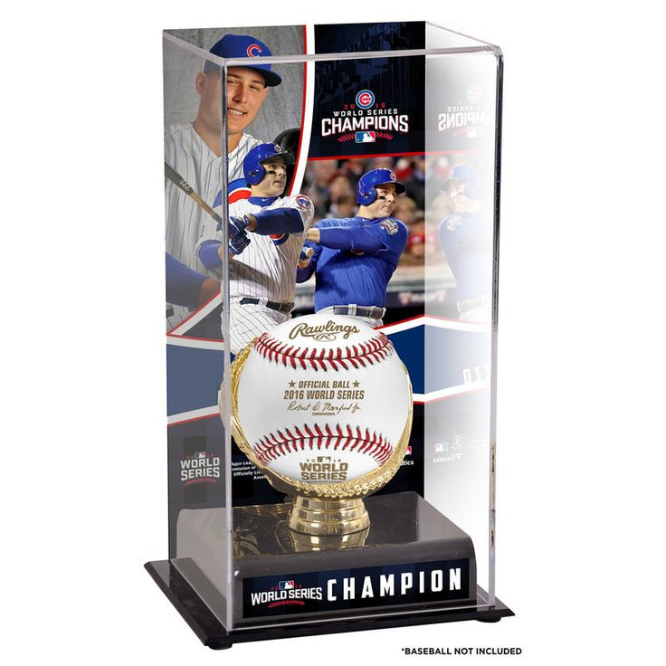 Anthony Rizzo Chicago Cubs Fanatics Authentic 2016 MLB World Series Champions Gold Glove Display Case with Image