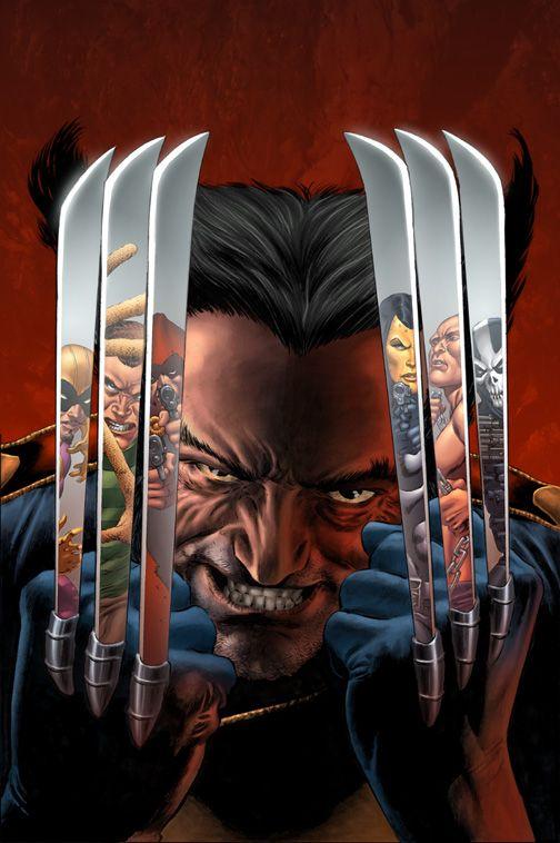 Wolverine Vs Sinister 6 by GURU-eFX