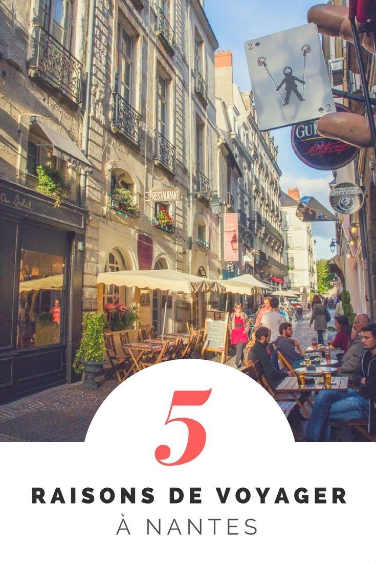 Nantes, 5 raisons d'y voyager maintenant! - Moi, mes souliers  #Nantes #France #Voyage