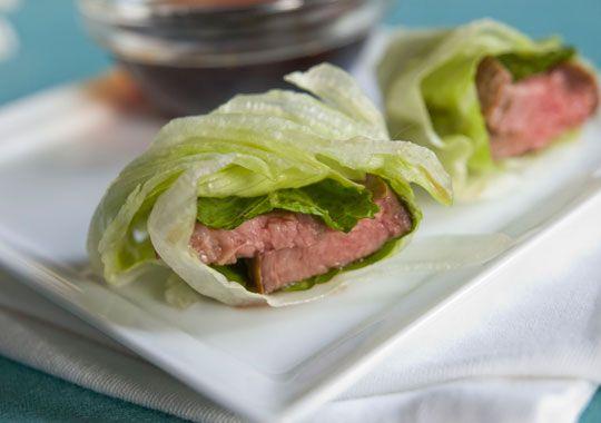 Seared Beef Lettuce Rolls via www.aveceric.comGlorious Food, Ripert Recipe, Avec Eric, Eric Seared, Parties Foodies, Ripert Seared, Healthy Recipe, Favorite Recipe, Eric Ripert