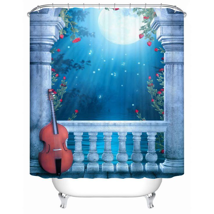 Cortinas De Baño Impermeables: De Cortina De Ducha en Pinterest