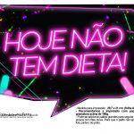 Plaquinhas Neon para Meninas 10