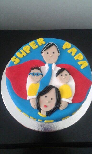Cake Super Papá