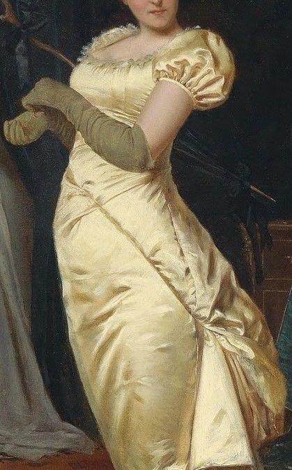 """""""Preparing for the Ball"""" by Frederic Soulacroix"""