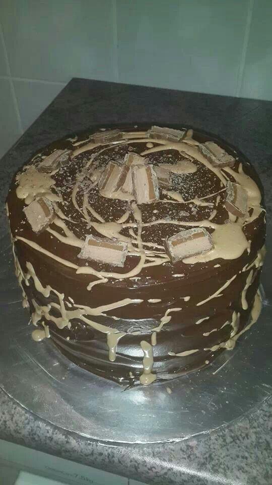 Bar One cake.