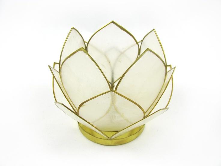 Best 28 capiz candle holder white lotus capiz shell candle holder polyvore amber leaf capiz - Capiz shell tealight holder ...