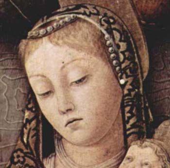 Carlo Crivelli - Madonna della Passione, dettaglio - 1460 circa - Verona, Museo di Castelvecchio