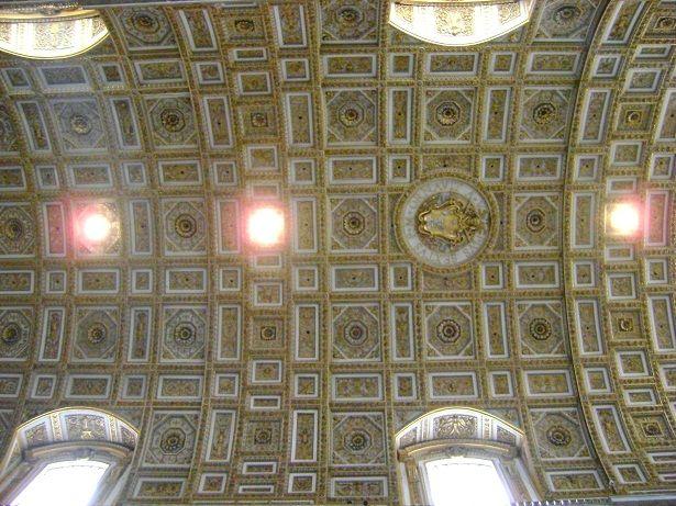Loftet i Peterskirken
