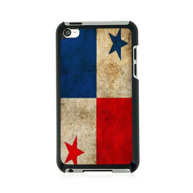 Панама Флаг Обои Пользовательские Hard Cover Protector Чехол Для ipod Touch4