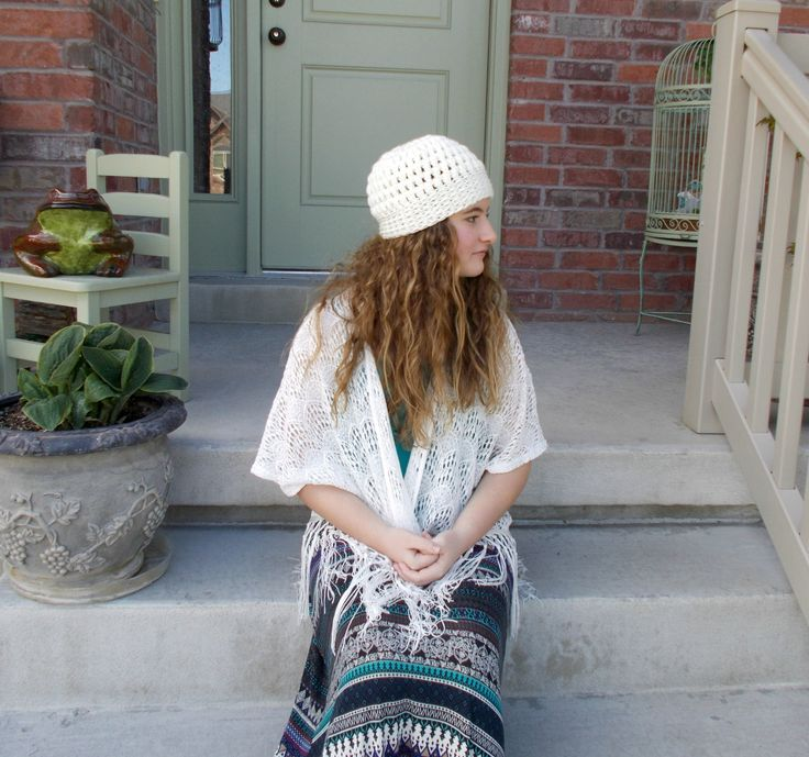 Ivory Crochet Beanie Hat with Bobbled Texture Cute Beanie Hats for Women Teens and Tweens Cream Hat Hand Crocheted Items Handmade Hats by foreverandrea on Etsy